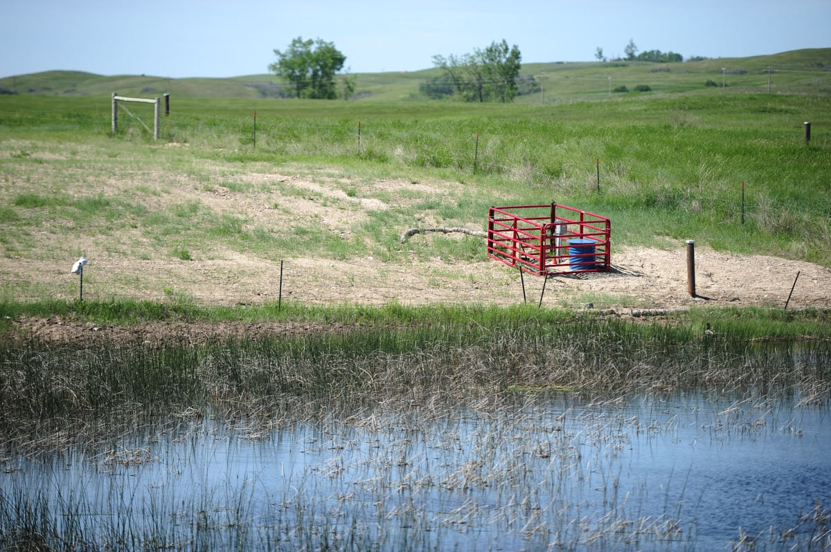 ND: EOG Resources Brine Spill Recovery Site