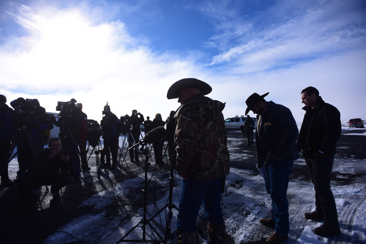 OR: Oregon Ranching Standoff Continues
