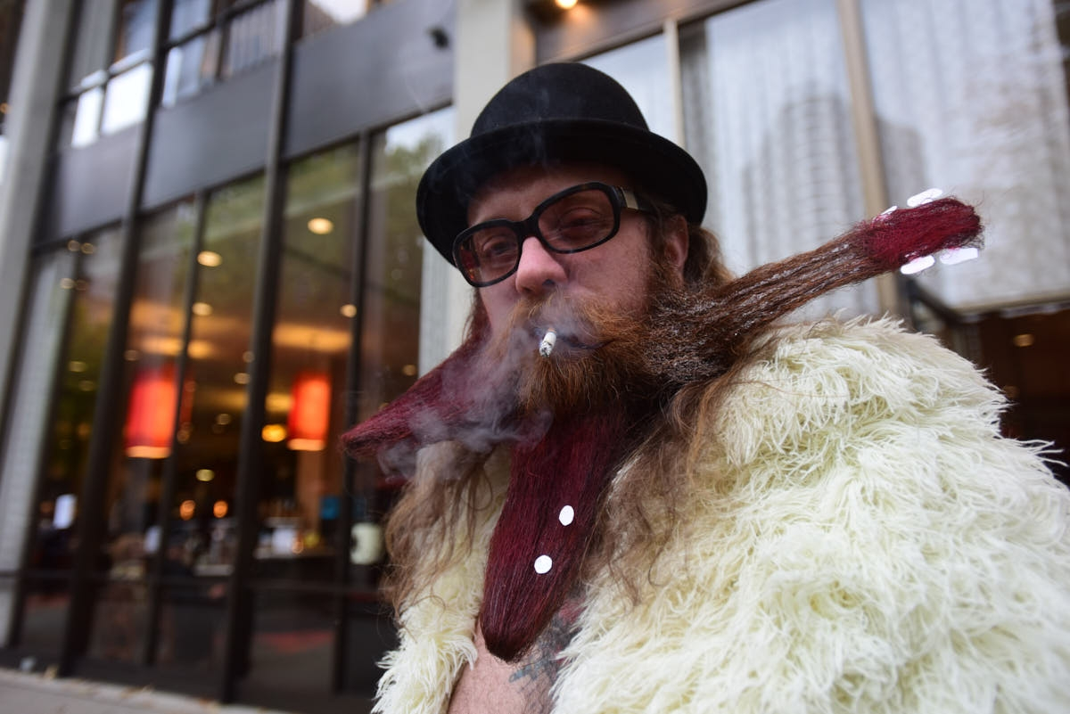 OR: World Beard and Moustache Championships Held in Portland