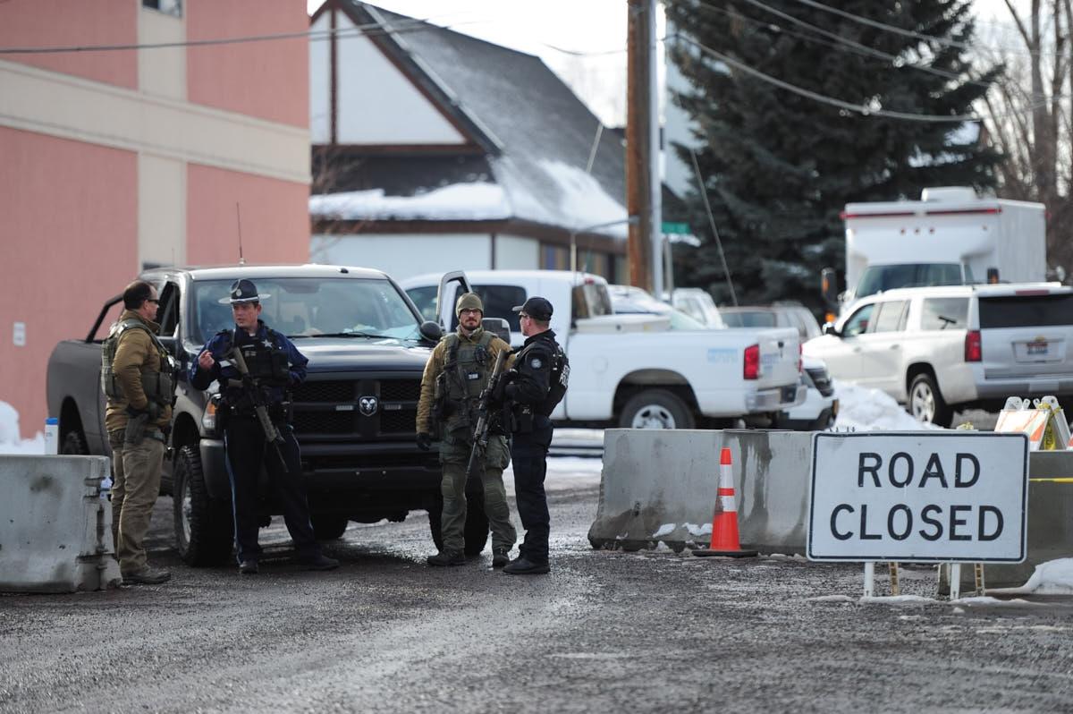 OR: Scenes From Burns As Standoff Continues