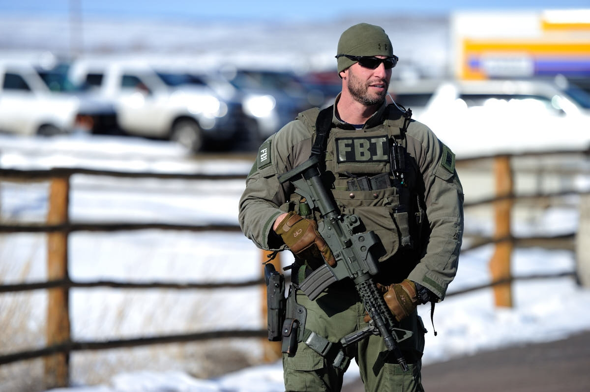 OR: FBI Presence in Burns