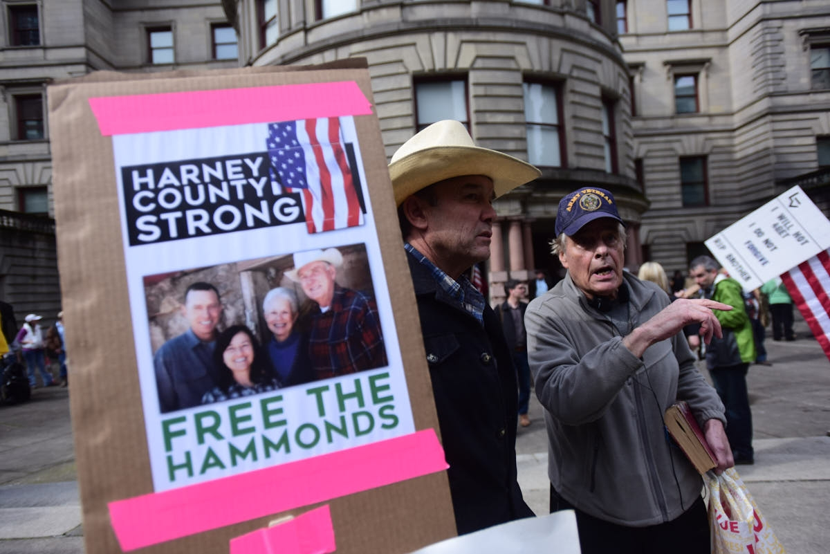 OR: Citizens For Constitutional Freedom Rally in Support of Imprisoned Occupiers