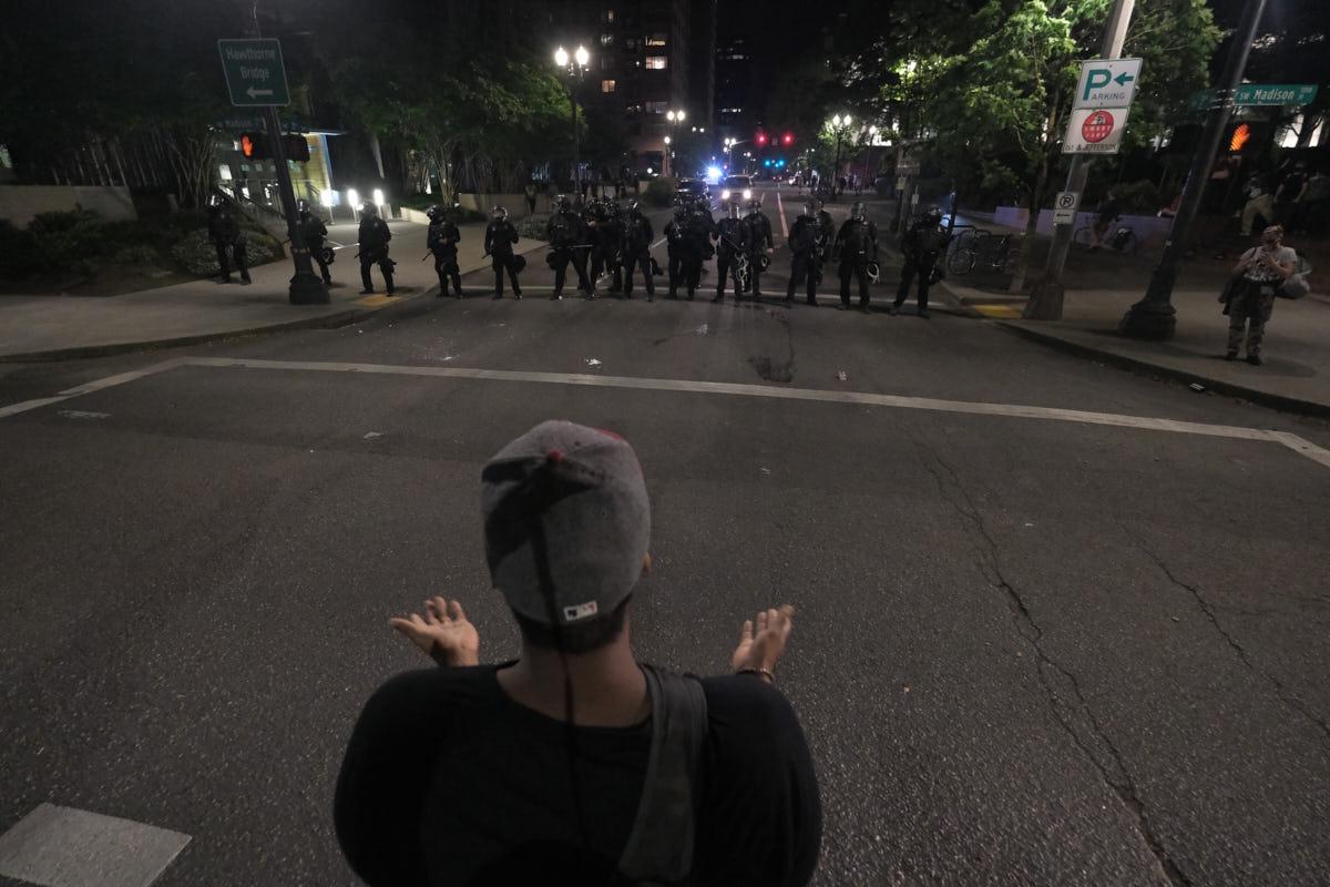 OR: Rioting Breaks Out In Portland